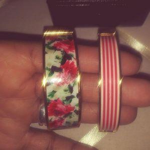 Two Talbots Hinged Bracelets